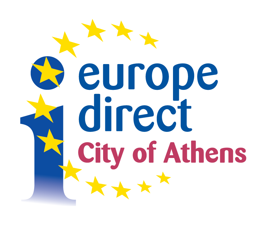 LOGO EUROPE DIRECT CITY OF ATHENS 01