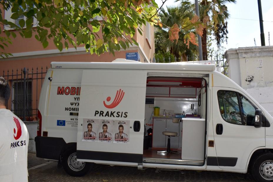 ιατρικη κινητη μοναδα PRAKSIS